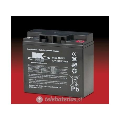 Batería mk powered es20-12cft 12v 20ah