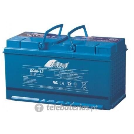 Batería fullriver dc80-12b 12v 80ah