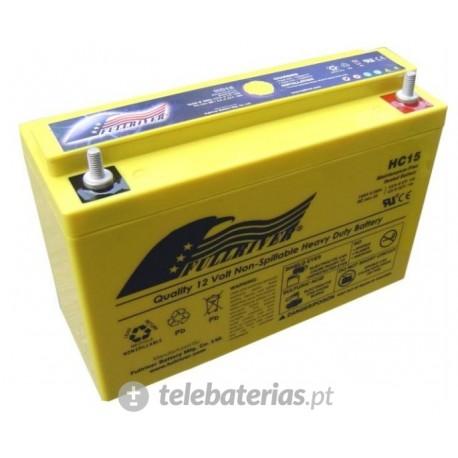 Batería fullriver hc15 12v 15ah