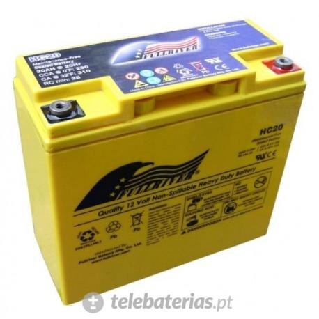 Batería fullriver hc20 12v 20ah