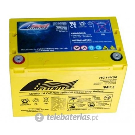 Fullriver Hc14V50 14V 50Ah battery