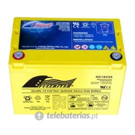 Fullriver Hc16V25 16V 25Ah battery