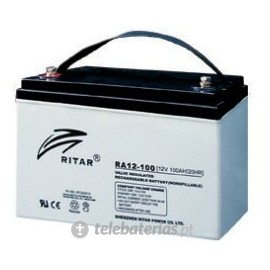 Batería ritar ra12-100b 12v 100ah