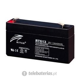 Batería ritar rt613 6v 1.3ah