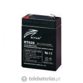 Batería ritar rt628 6v 2.8ah
