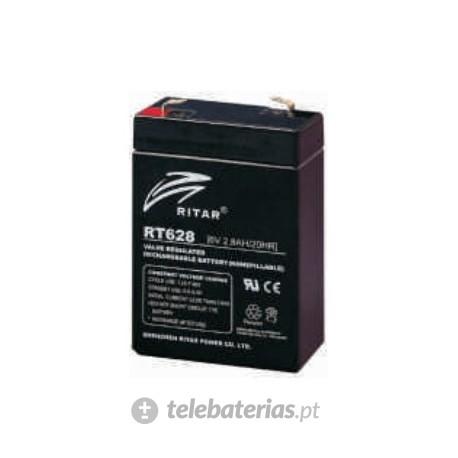 Batterie ritar rt628 6v 2.8ah