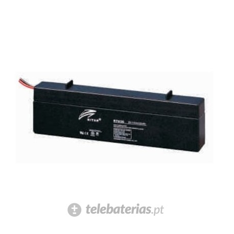 Batería ritar rt640s 6v 4.0ah