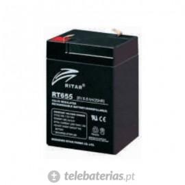 Batería ritar rt655 6v 5.5ah