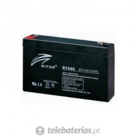 Batería ritar rt690 6v 9ah