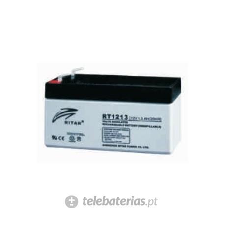 Batería ritar rt1213 12v 1.3ah
