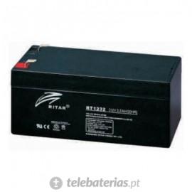 Batería ritar rt1232 12v 3.2ah