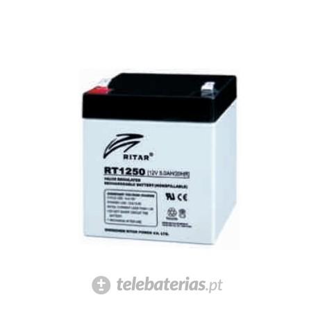 Batería ritar rt1250 12v 5.0ah