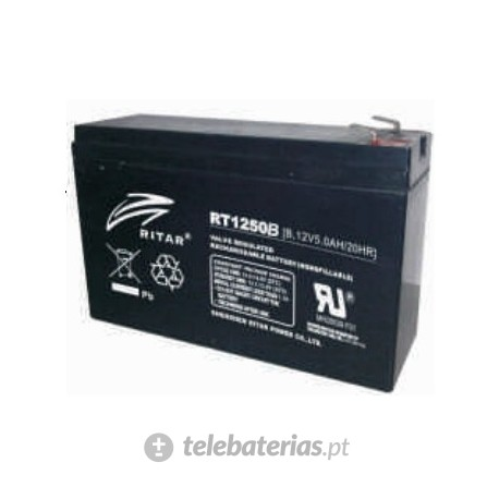 Batería ritar rt1250b 12v 5.0ah