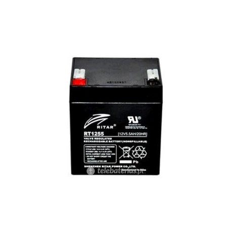 Ritar Rt1255 12V 5.5Ah battery