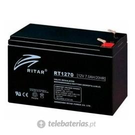 Batería ritar rt1270 12v 7.0ah