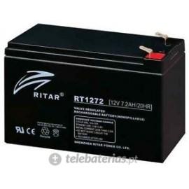 Batería ritar rt1272 12v 7.2ah