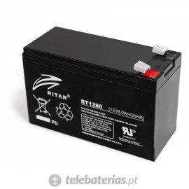 Ritar Rt1280 12V 8.0Ah battery