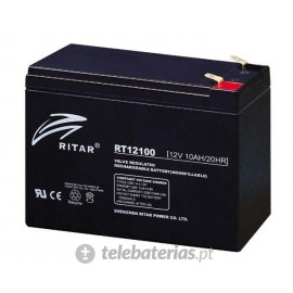 Batterie ritar rt12100 12v 10ah