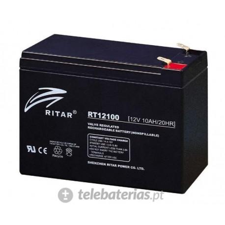 Batería ritar rt12100 12v 10ah