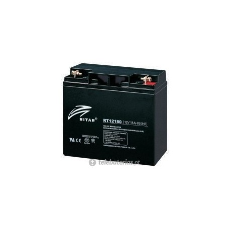 Batería ritar rt12180 12v 18ah