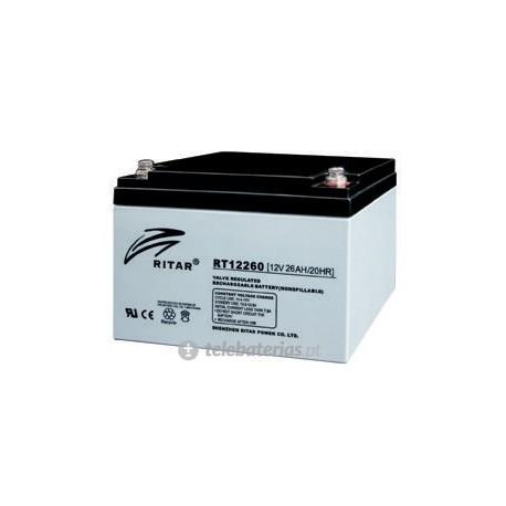 Ritar Rt12260S 12V 26Ah battery