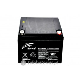 Batterie ritar rt12280 12v 28ah