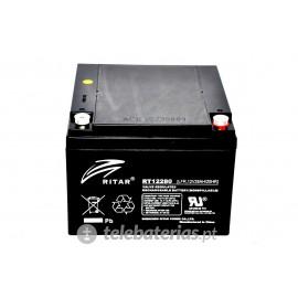 Batería ritar rt12280 12v 28ah