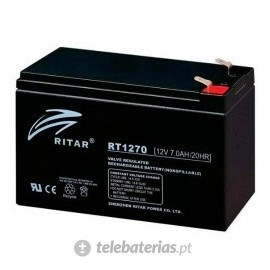 Batería ritar rt1270a 12v 7ah