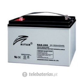 Batería ritar ra6-200 6v 214ah