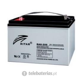 Batería ritar ra6-200s 6v 200ah