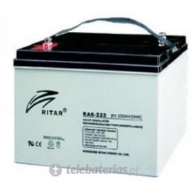 Batería ritar ra6-225 6v 225ah