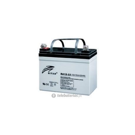 Batería ritar ra12-33 12v 35ah
