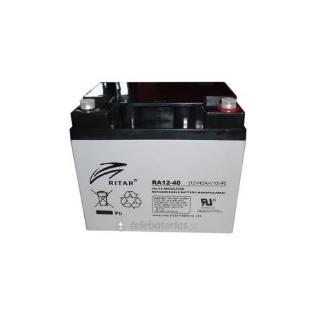Batería ritar ra12-40 12v 42ah