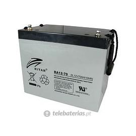 Batería ritar ra12-70 12v 70ah