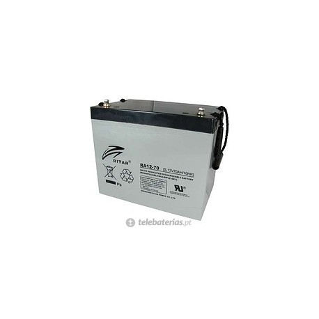 Batería ritar ra12-70s 12v 70ah