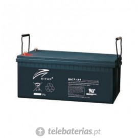Batería ritar ra12-180 12v 180ah