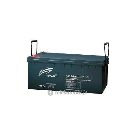 Batería ritar ra12-200-f10 12v 200ah