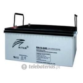 Batterie ritar ra12-240-f16 12v 240ah