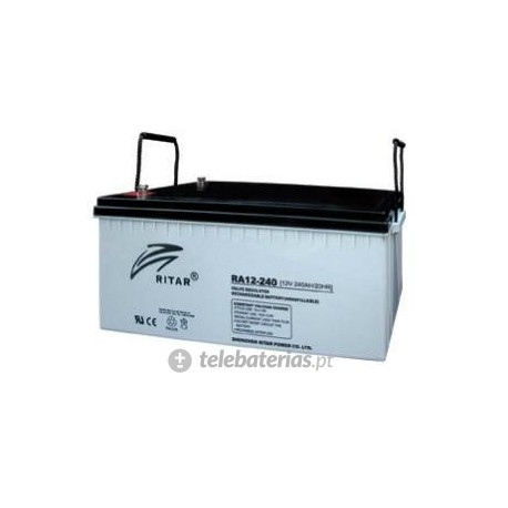 Batería ritar ra12-240-f16 12v 240ah