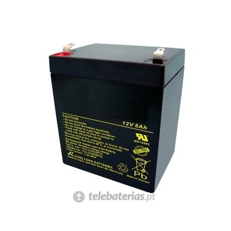 Batería blanca agm12-5 12v 5ah
