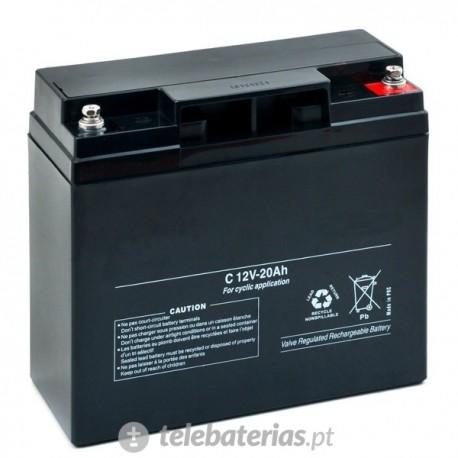Batería blanca agm12-20 12v 20ah