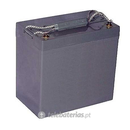 Batería blanca gel12-55 12v 53ah