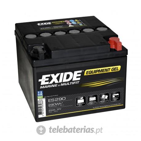 Batería exide g25f 12v 25ah