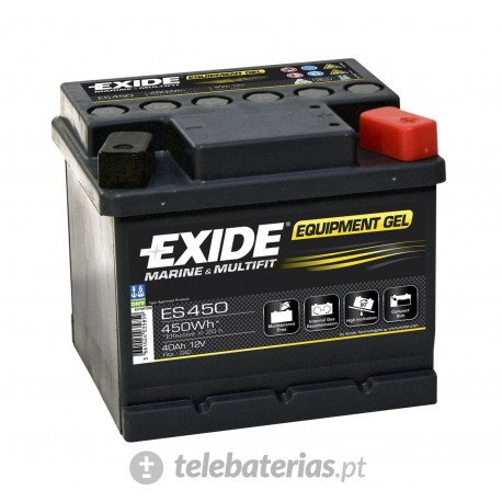 Exide G40 12V 40Ah battery