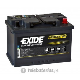 Batería exide g60 12v 56ah
