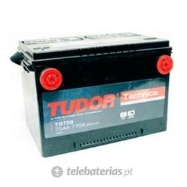 Batería tudor tb-758 12v 75ah