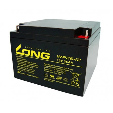Batterie long wp26-12 12v 26ah