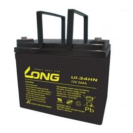 Long U1-34Hn 12V 34Ah battery