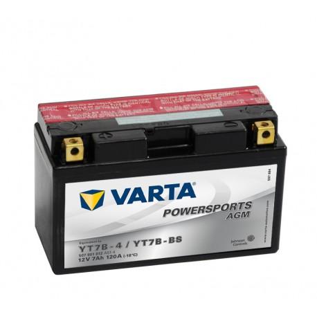 Varta Yt7B-4 Yt7B-Bs 12V 7Ah battery