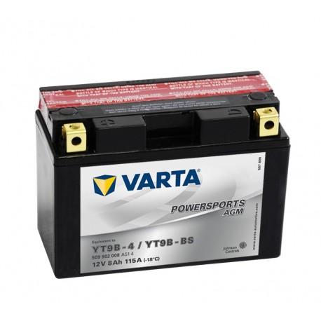 Batería varta yt9b-4 yt9b-bs 12v 9ah